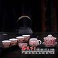 中秋礼品陶瓷茶具传统中式陶瓷茶具