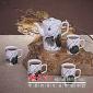 手绘高档陶瓷茶具